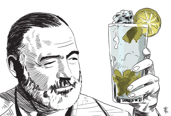 Mojito storia ingredienti e ricetta mojito cocktail for Cocktail hemingway