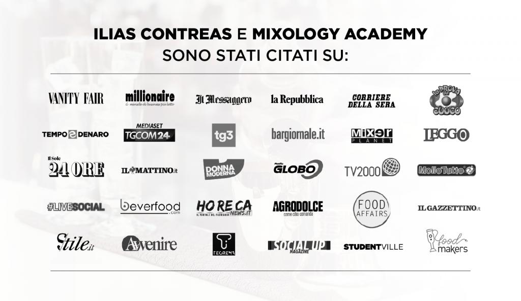 Ilias Contreas e MIXOLOGY Academy