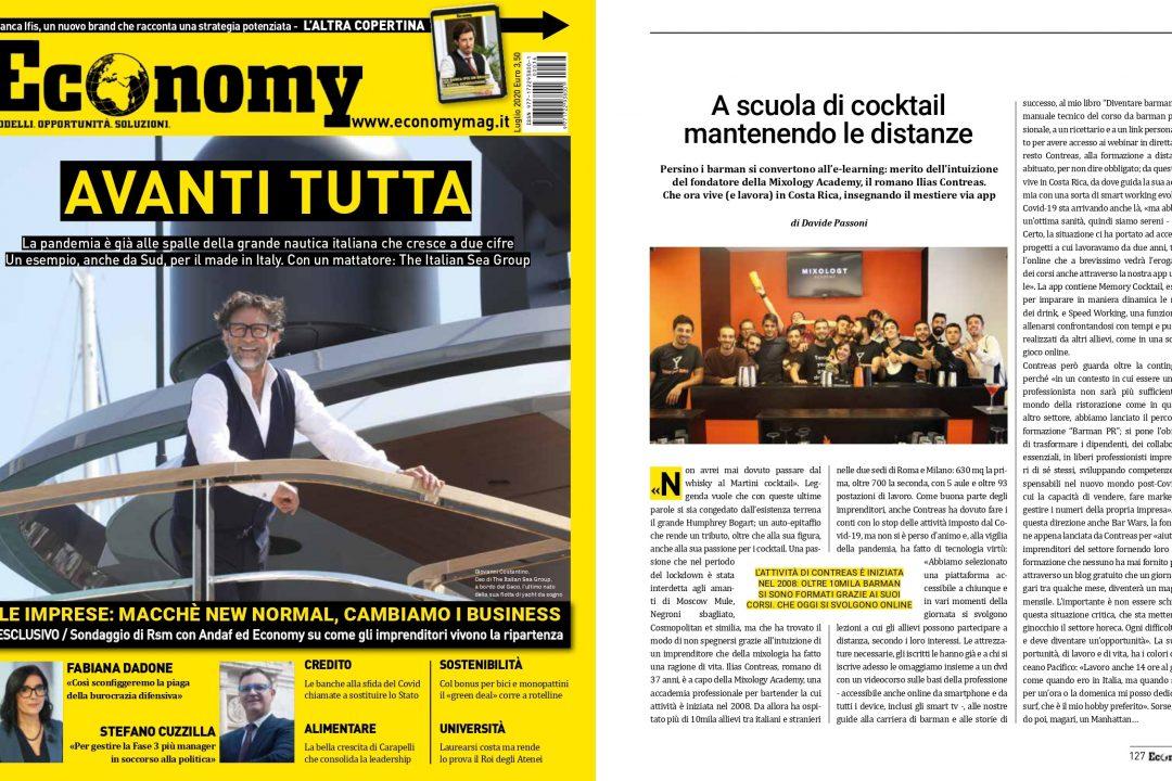Economy parla di MIXOLOGY Academy