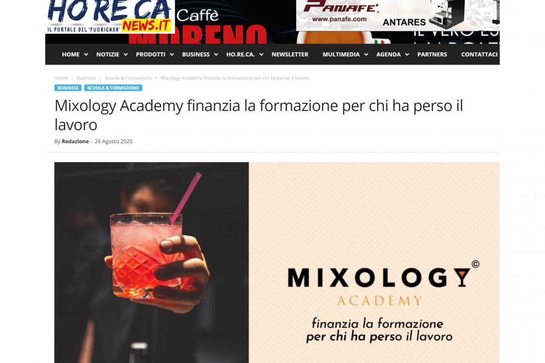 HorecaNews su Mixology Academy