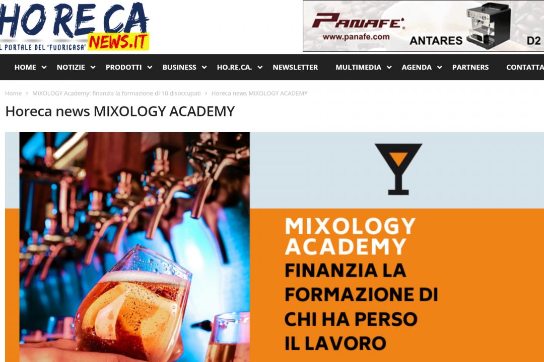 Horeca news su MIXOLOGY Academy