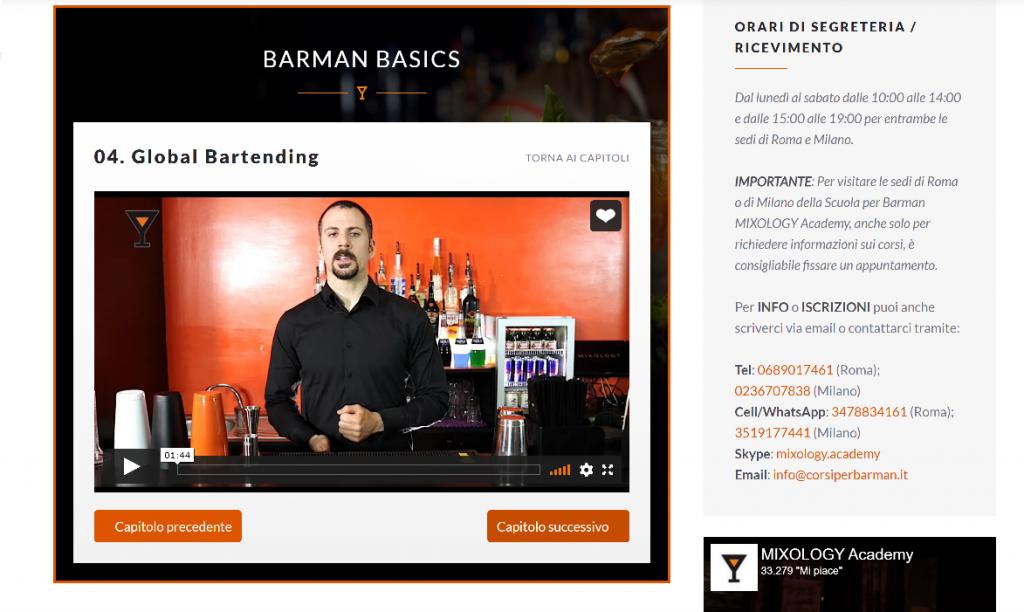 BARMAN BASICS